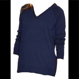 Gap V-neck Sweater XS in Navy Blue